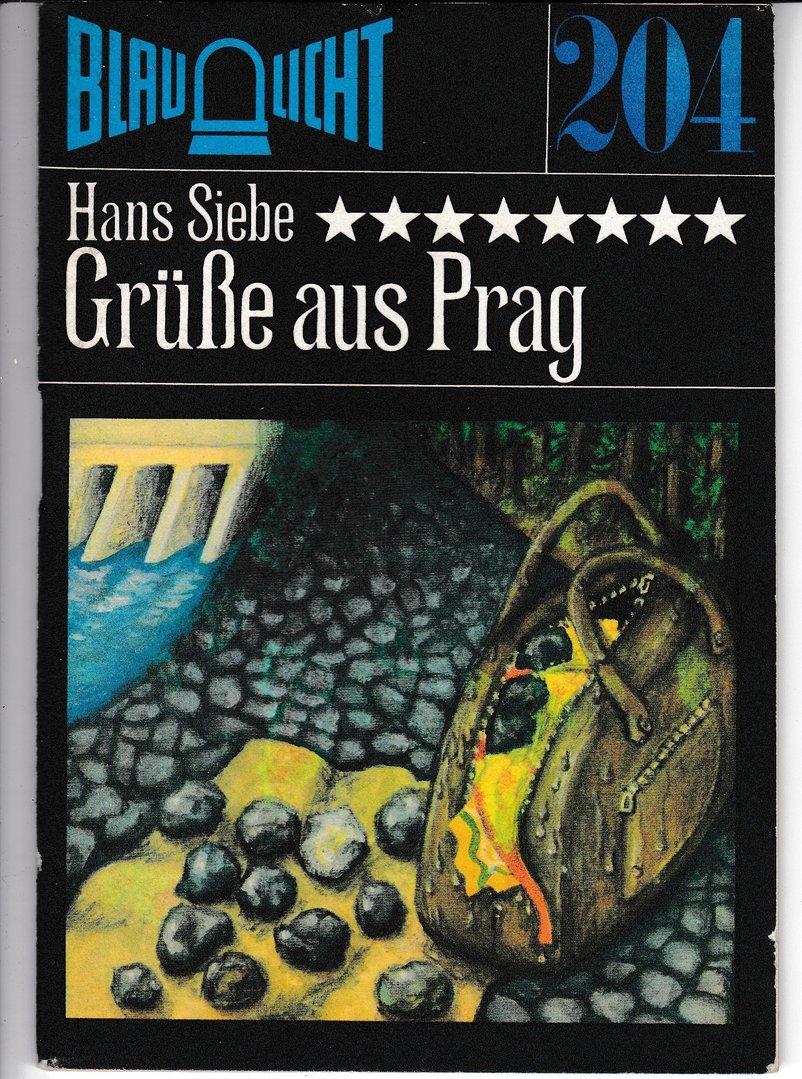 "Hans Siebe ""Grüße aus Prag"" 1980"