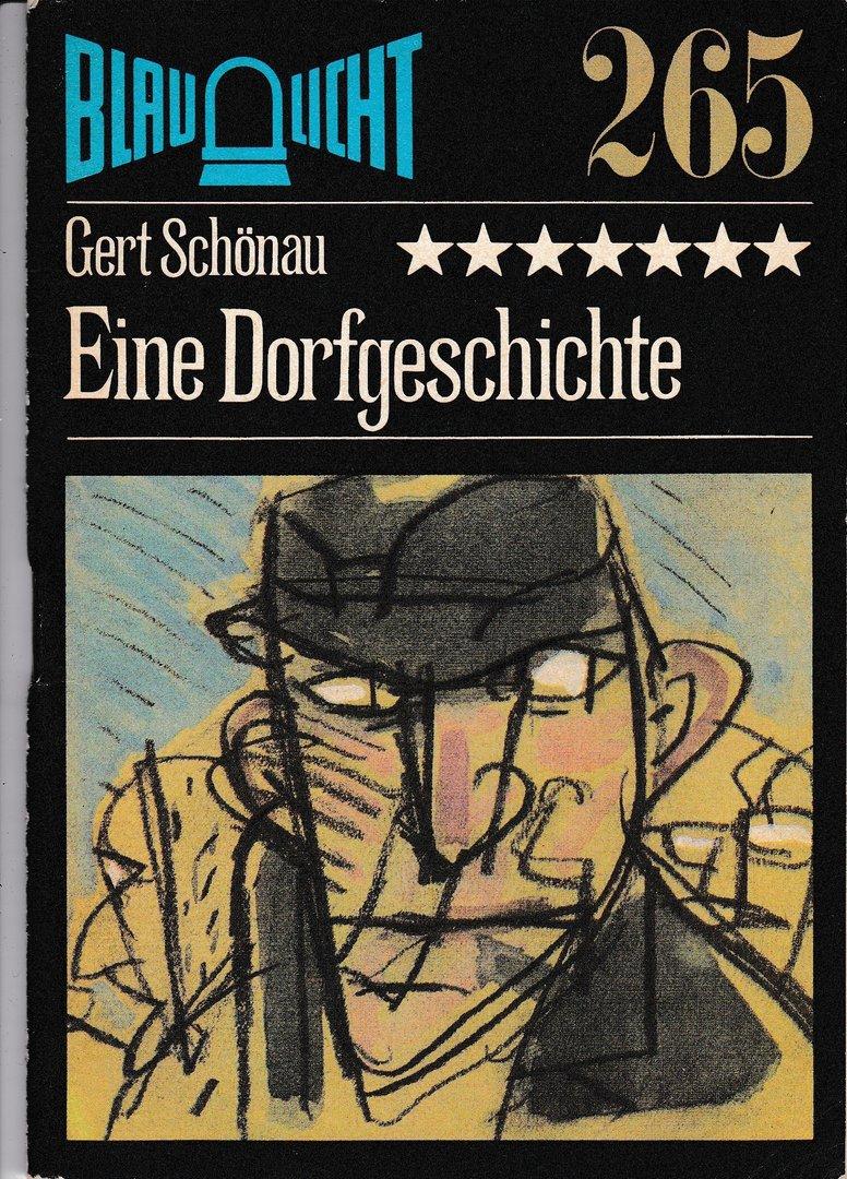 """Gert Schönau """"Eine Dorfgeschichte"""" 1988"""