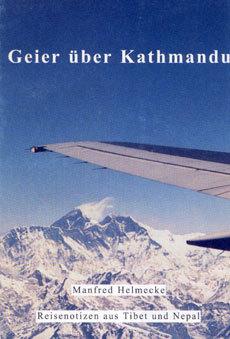 Geier über Kathmandu